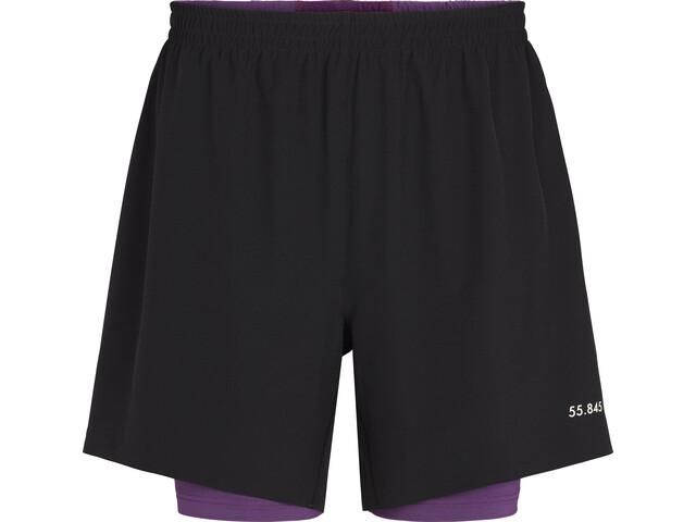 Fe226 LightRun 2-in-1 Shorts, black
